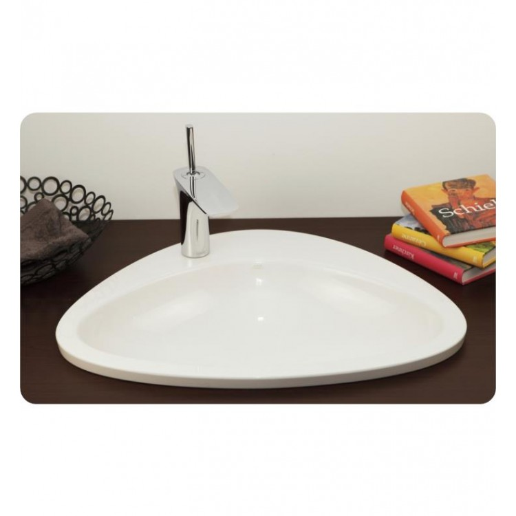 Fantastic Hansgrohe 42310000 Axor Massaud 23 Single Hole Drop In Oval Bathroom Sink In White Home Interior And Landscaping Palasignezvosmurscom