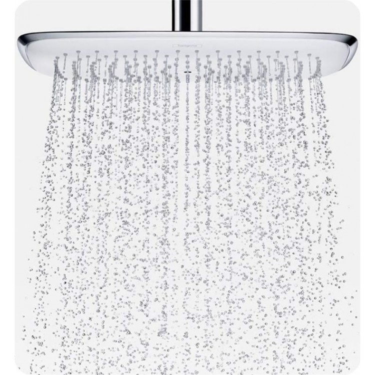 Attrayant Hansgrohe HG PRSHOWERSYS3 PuraVida Shower System With Handshower And  Bodysprays In White/Chrome Dual Finish