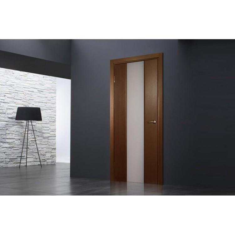 Ville Loda Wenge Wood Veneer Modern Interior Door