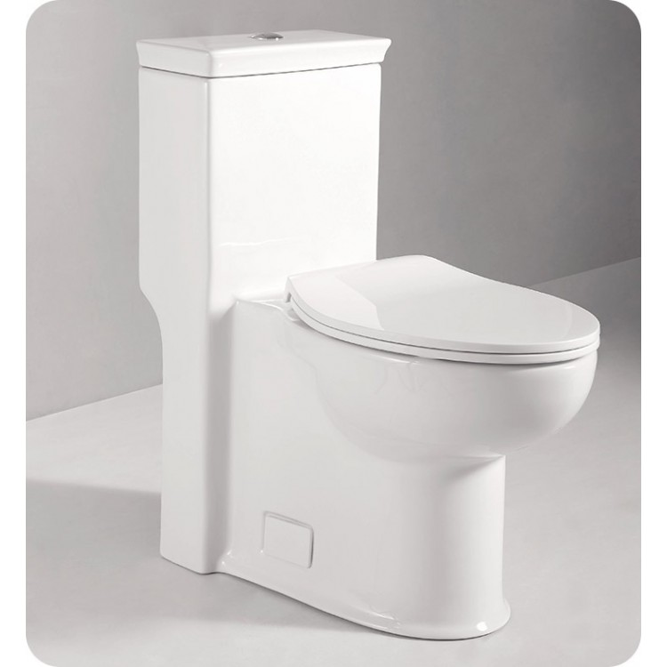 Outstanding Fresca Ftl2377 Apollo One Piece Contemporary Toilet Andrewgaddart Wooden Chair Designs For Living Room Andrewgaddartcom