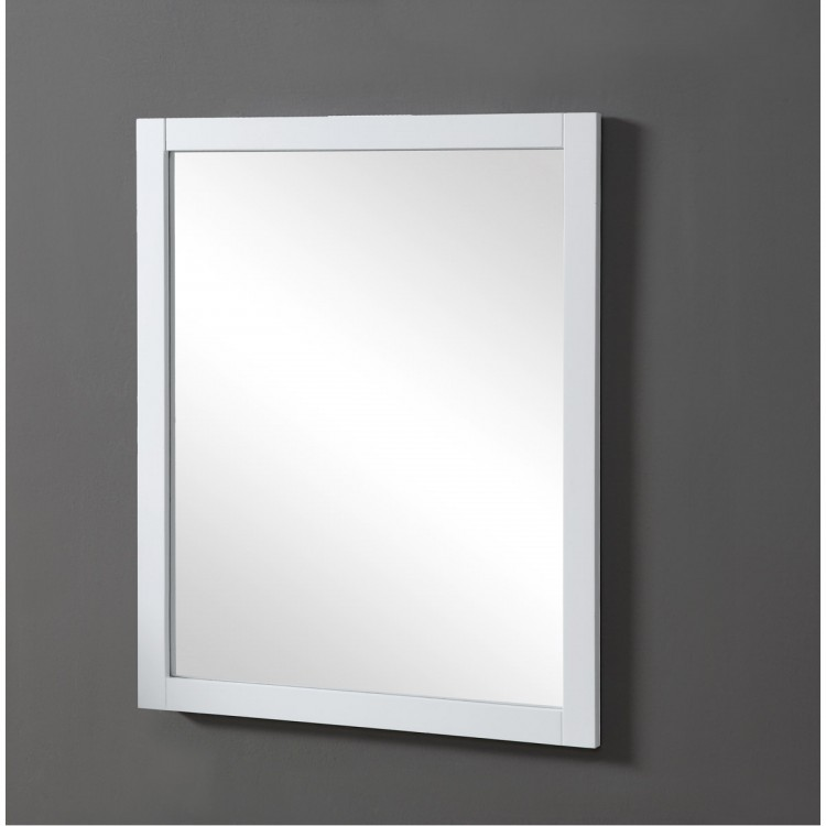 elegant lighting vm15032wh americana 36 x 32 inch white wall mirror
