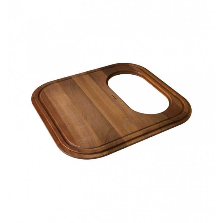 Franke GN20-45SP Iroko Solid Wood Cutting Board With Colander For GNX11020  Kitchen Sink