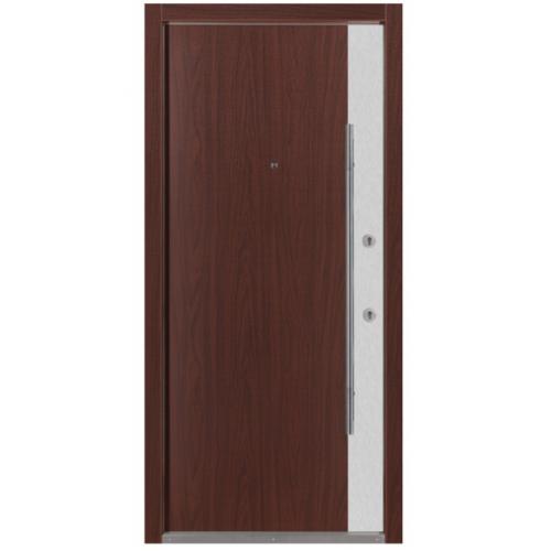 Nova Inox S3 Mahogany Exterior Door
