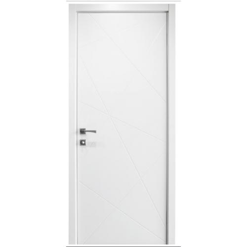 & Nova HM-419 Pure White Laminated Modern Interior Door