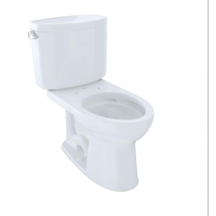 Astonishing Toto Cst454Cef Drake Ii Two Piece Elongated Toilet With 1 28 Gpf Single Flush Ocoug Best Dining Table And Chair Ideas Images Ocougorg