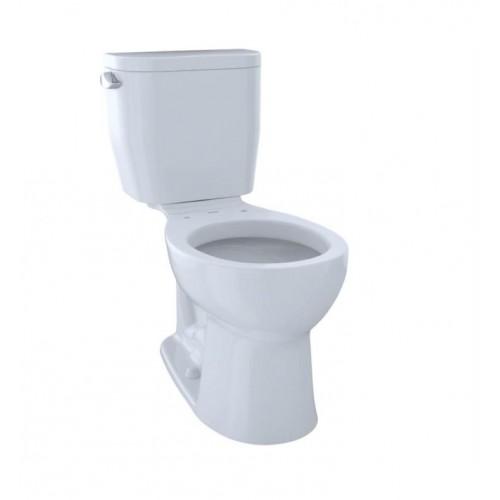 CST243EF Entrada Two-Piece Round Toilet with 1.28 GPF Single Flush