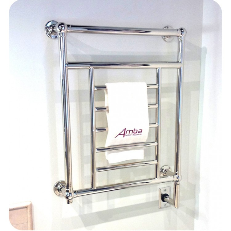 Amba T 2536 Traditional Electric Towel Warmer In Polished Nickel