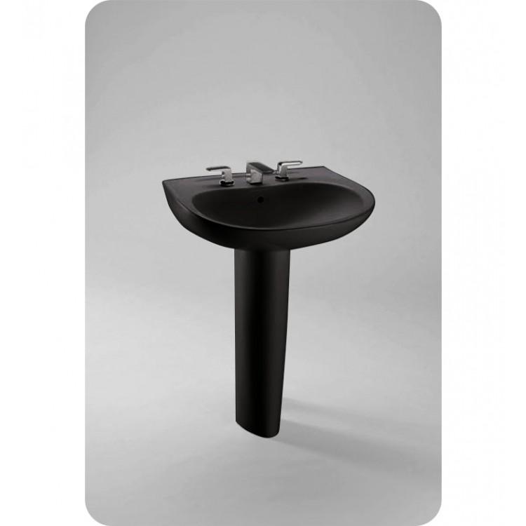 TOTO LPT242 Prominence® Pedestal Lavatory in Ebony Black