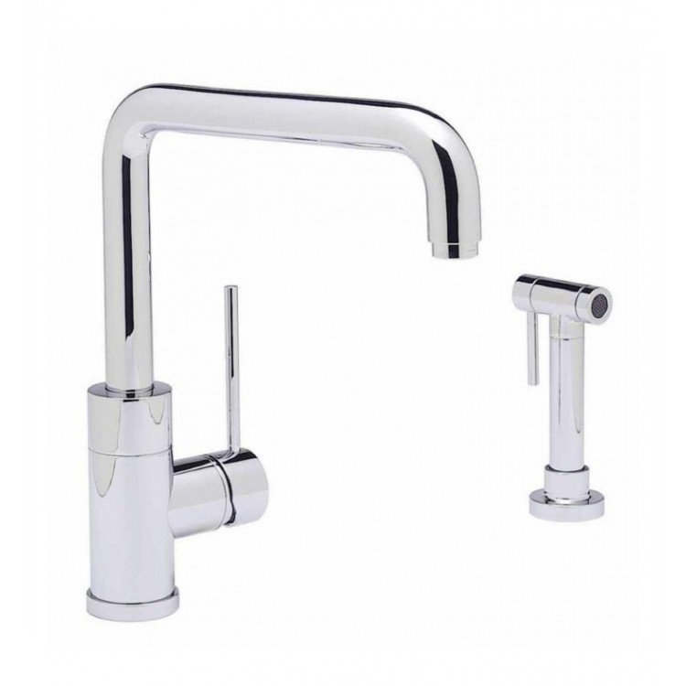 Outstanding Blanco 440603 Purus I Single Handle Kitchen Faucet With Side Spray In Chrome Beutiful Home Inspiration Xortanetmahrainfo