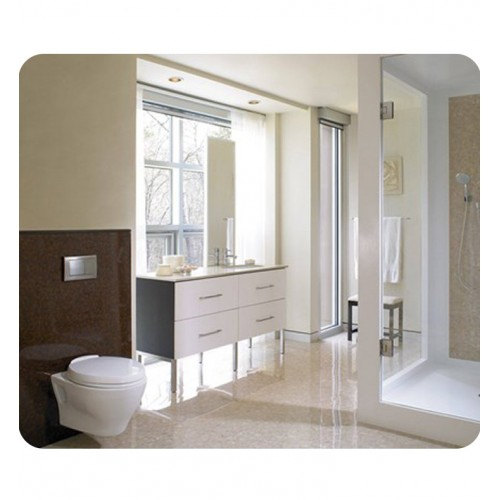 TOTO CWT418MFG 2#01 Aquia Wall Hung One Piece Elongated Toilet, Universal  Height With 1.6 GPF ...