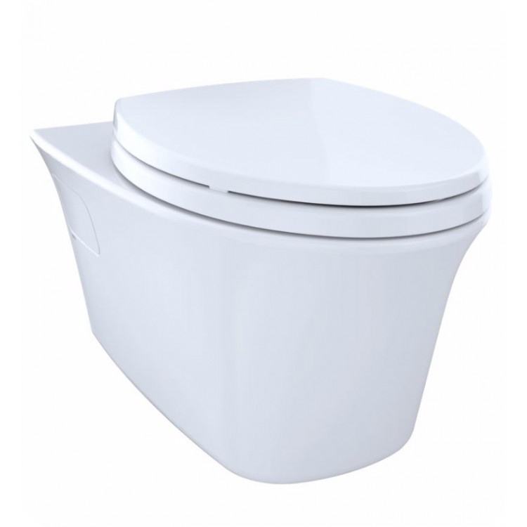 Toto Ct486fg 01 Maris Wall Hung One Piece Elongated Toilet